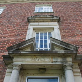 Entry to Mayes Hall