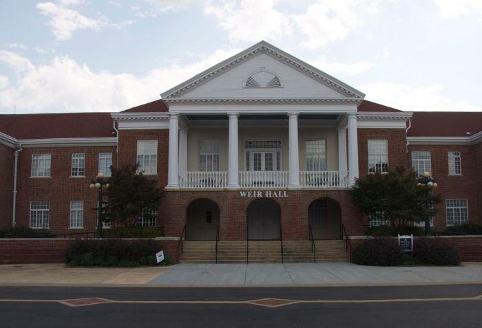 Weir front facade