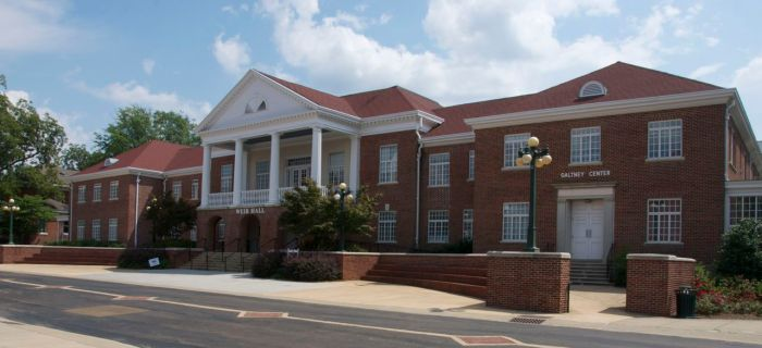 Weir Memorial Hall, University of Mississippi