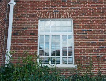 Metal crank-out casement windows
