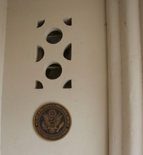 decorative detail entry alcove