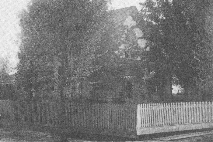 Home of Mr. W.A. Jones.