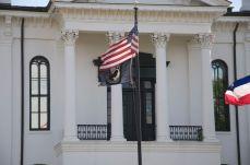 Lafayette upper portico