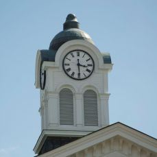 Cupola with clock, Lafayette County