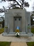 North elevation, Ed Barq Sr. Mausoleum Biloxi, Harrison County 3-17-2013
