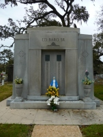 North elevation, Ed Barq Sr. Mausoleum Biloxi, Harrison County 3-17-2013