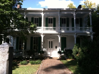 Sarah Sheffield's beautiful historic home.