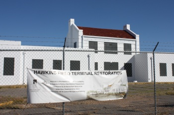 Hawkins Field Terminal Building is awaiting the next phase of its transformation.