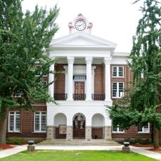 Marshall upper portico