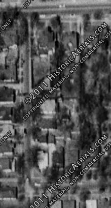 Spain House block 1960. from historicaerials.com accessed 10-14-2013