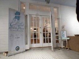 The Cedars front door
