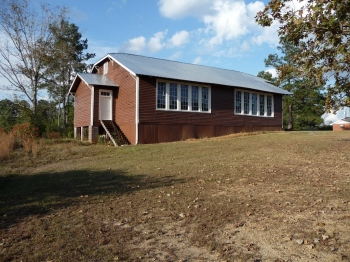Walthall County Training School. Tylertown vicinity