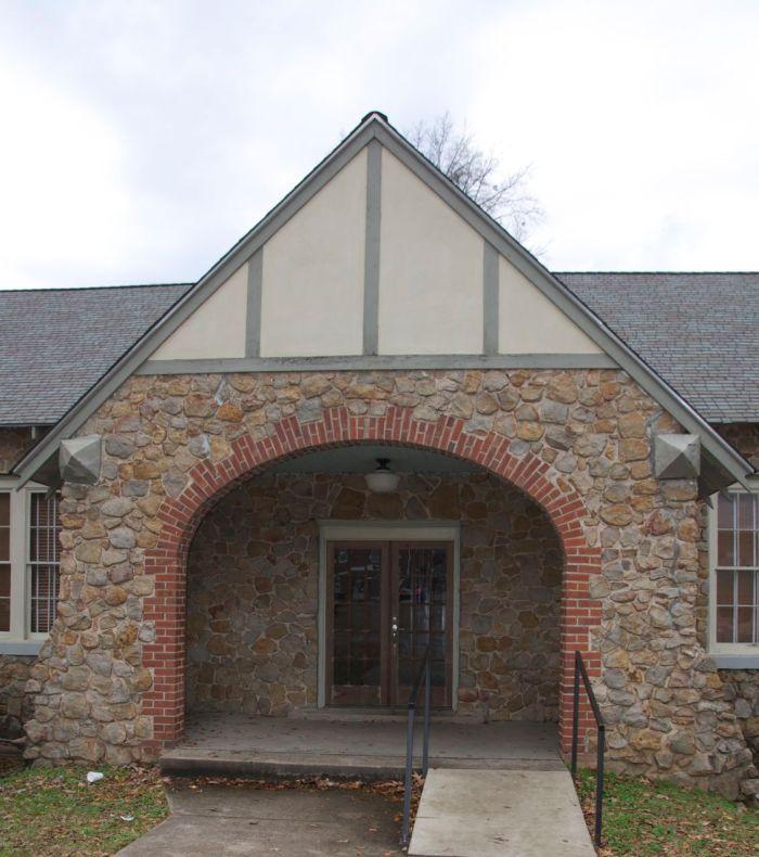Winona Community House detail