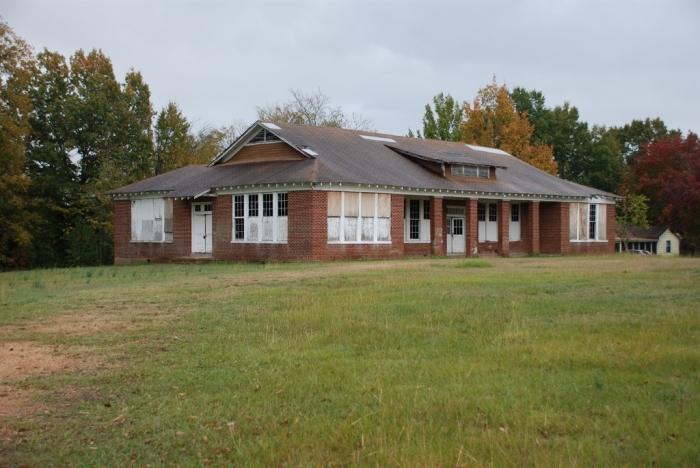 Cockrum School (White), DeSoto County (c.1930). Designated April 19, 2013. Photo courtesy MDAH, Historic Preservation Division. Photo Nov. 1, 2012, Jennifer Baughn, MDAH, retrieved from MDAH Historic Resources Database, January 2, 2014.