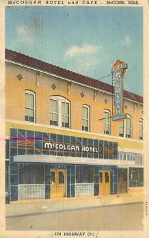 McColgan Hotel, McComb