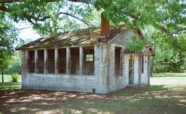 Morgan Grove Negro School, DeSoto County (1951), designated July 19, 2013. Photo courtesy MDAH, Historic Preservation Division.