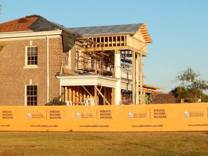 Ogletree (Alumni) House, USM. Photo Fall 2013, courtesy MDAH, Historic Preservation Division.