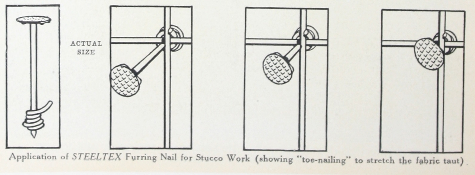 Application of STEELTEX furring Nail for Stucco Work. Page 10 Better ...