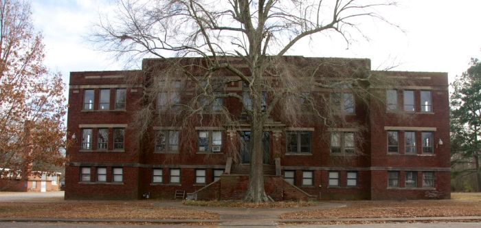 Sardis High School front elevation
