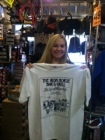 Paige Adoue shows off the fabulous Iron Horse T.