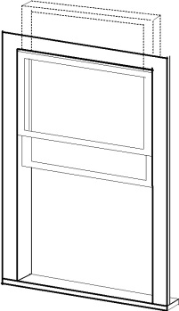 Box-head Window author rendering