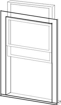 Box-head Window author rendering