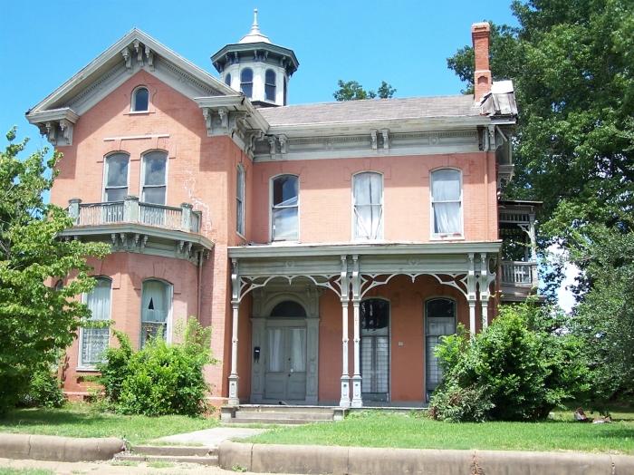 Beck House, Vicksburg, Warren County Nancy Bell, Consultant Aug 2007 from MDAH HRI 4-1-2014