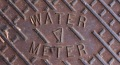Detail Harper water meter cover. Pascagoula, MS 5-21-2013