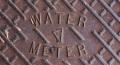 Detail Harper water meter cover. Pascagoula, MS 5-21-2013