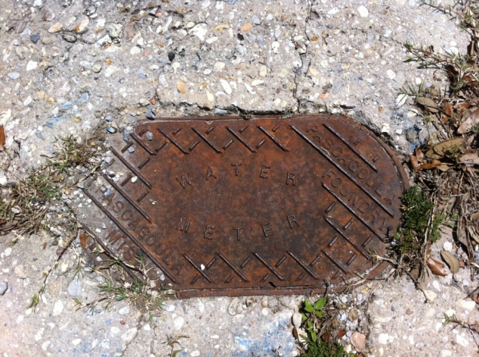 Pascagoula Foundry Water Meter, Pascagoula, Jackson County