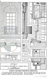 Plate 20 Radford's Portfolio of Details of Building Construction 1911