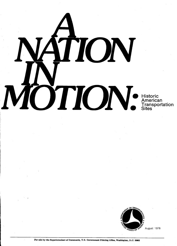 A Nation in Motion Cover 1976