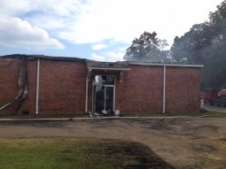 Houlka School Fire13