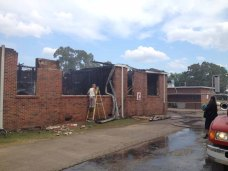 Houlka School Fire4