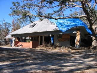 Charnley Norwood House. Ocean Springs Jackson County. MDAH 11-30-2005 from MDAH HRI db accessed 8-24-2014