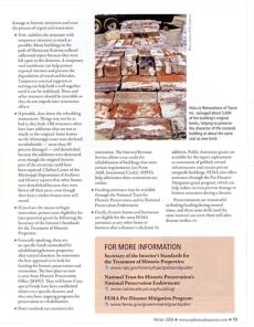 Page 3 Waveland School, Waveland Hancock Co. Traditional Masonry Article Dec. 2008 MDAH HRI db Accessed 8-13-2014