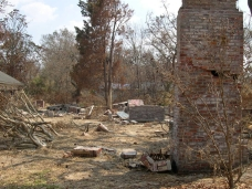 remains of Sullivan House. Ocean Springs Jackson County. MDAH 9-13-2005 from MDAH HRI db accessed 8-24-2005