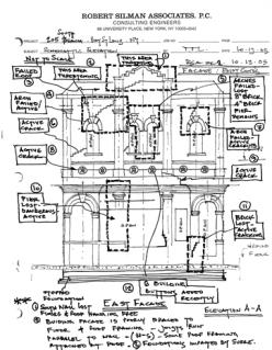 Schematic Stabilization, by Robert Sillman Assocs. 205 S. Beach Blvd., Bay St. Louis Hancock Co. MDAH 10-13-2005 from MDAH HRI db Accessed 8-13-2014