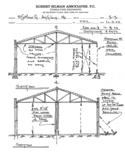 Sections, Schematic Stabilization, by Robert Sillman Assocs. 111 Main St., Bay St. Louis Hancock Co. MDAH 10-11-2005 from MDAH HRI db Accessed 8-13-2014