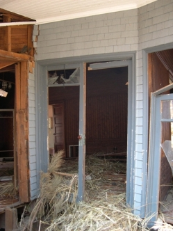 Side door. Charnley Norwood House. Ocean Springs Jackson County. MDAH 9-13-2005 from MDAH HRI db accessed 8-24-2014