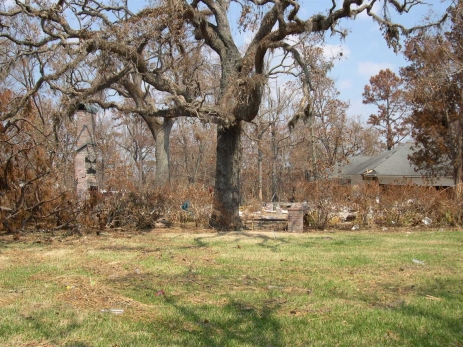 Site of Sullivan House. Ocean Springs Jackson County. MDAH 9-13-2005 from MDAH HRI db accessed 8-24-2014