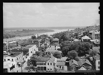 Vicksburg May 1940 U.S. Farm Security Administration