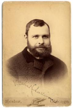 Louis Sullivan, 1890. from Ryerson Burnham Iibrary, Art Institute of Chicago Accessed 9-3-2014
