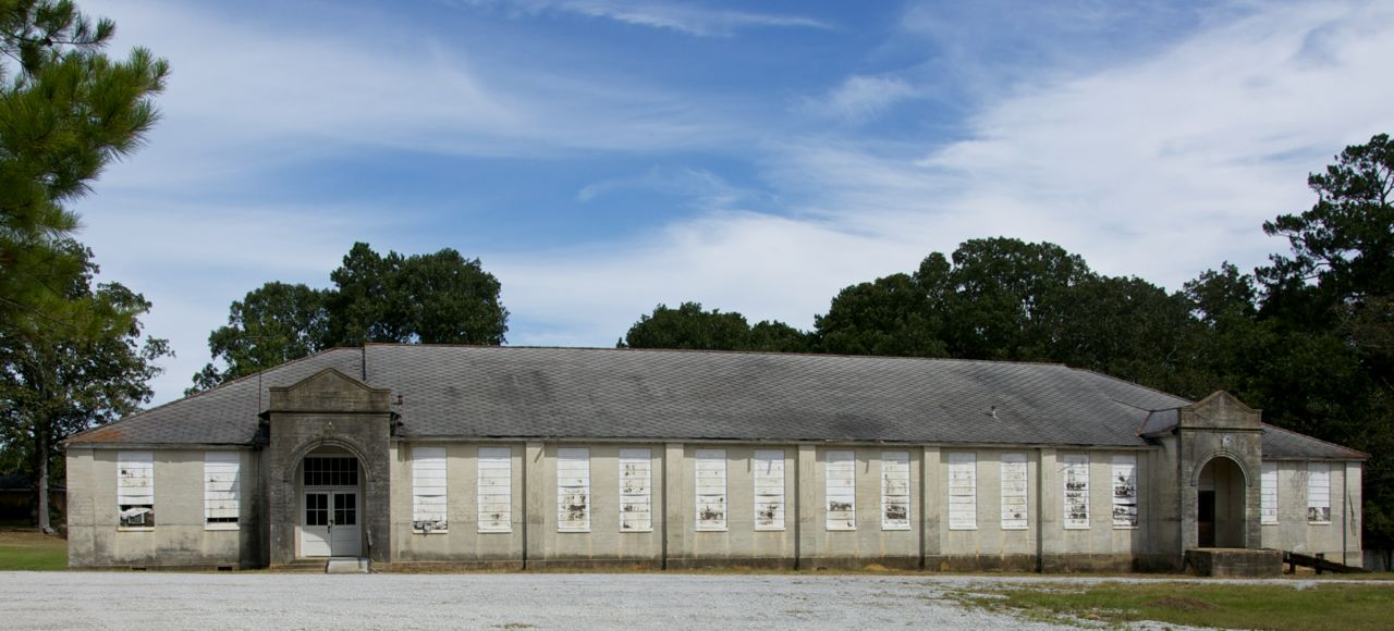 New Deal In Mississippi Lynville School Preservation In
