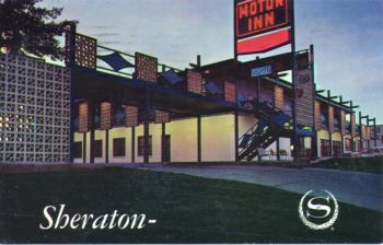 The Sheraton Rex-Plaza in the 1960s