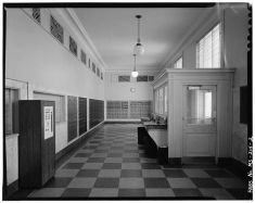 Lobby, Historic American Buildings Survey, retrieved from http://www.loc.gov/pictures/item/mso225/
