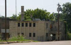 Holmes County jail smokestack, Lexington