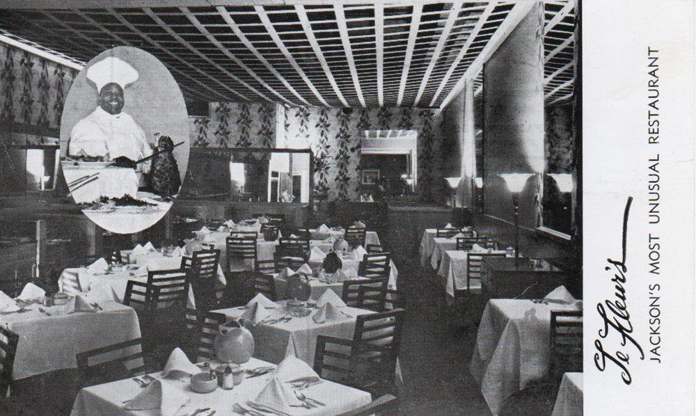 Going Inside Lefleur S Restaurant Jackson Preservation