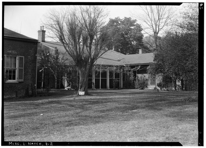 EAST ELEVATION - The Manse, Rankin Street, Natchez, Adams County, MS. Ralph Clynne, Photographer, HABS, March 29, 1934.