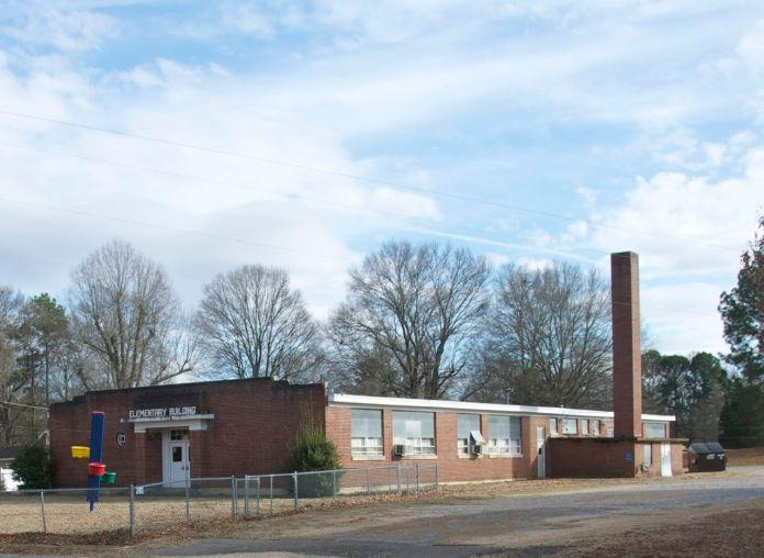 Sardis Elementary School smokestack